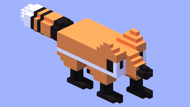 fox model no 40218 minecraft project