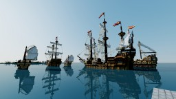 Vangle Armada (World of Atlas) Minecraft Project