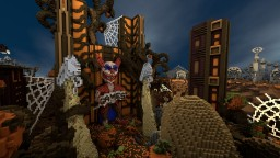 CubeCraftGames: Halloween Hub Minecraft Map & Project
