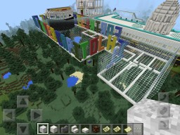 Fortress Convention Center Minecraft Map & Project