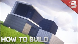 ✔ Minecraft: How To Build A Small Modern House Tutorial Minecraft Project