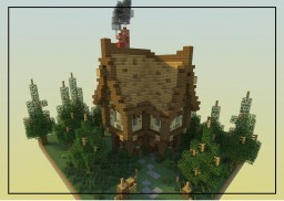 Cute rustic house. Minecraft Map & Project