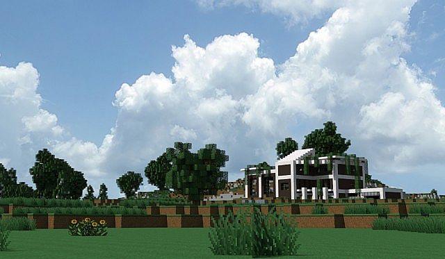 Modern house no 7 link in the description minecraft project for Modern house description