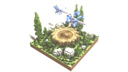 Creative Server Spawn  (Small) Minecraft Map & Project