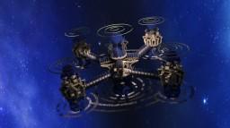 Futuristic space station | Plot build Minecraft Map & Project