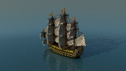 Ship of line - San Felipe Minecraft Project