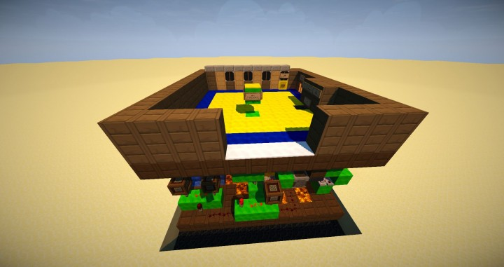 Minecraft Redstone Slot Machine 13x12x9
