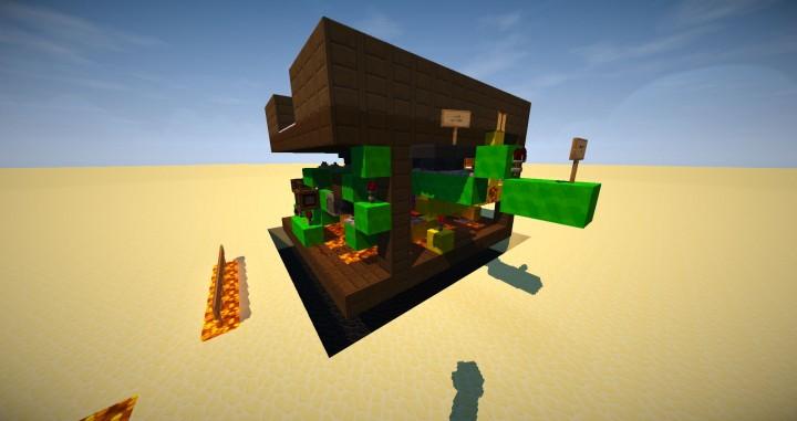 Minecraft Redstone Slot Machine IO