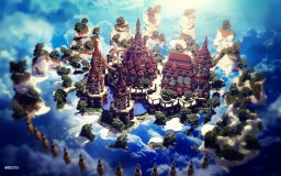 The Castle between Heaven and Earth Minecraft Project