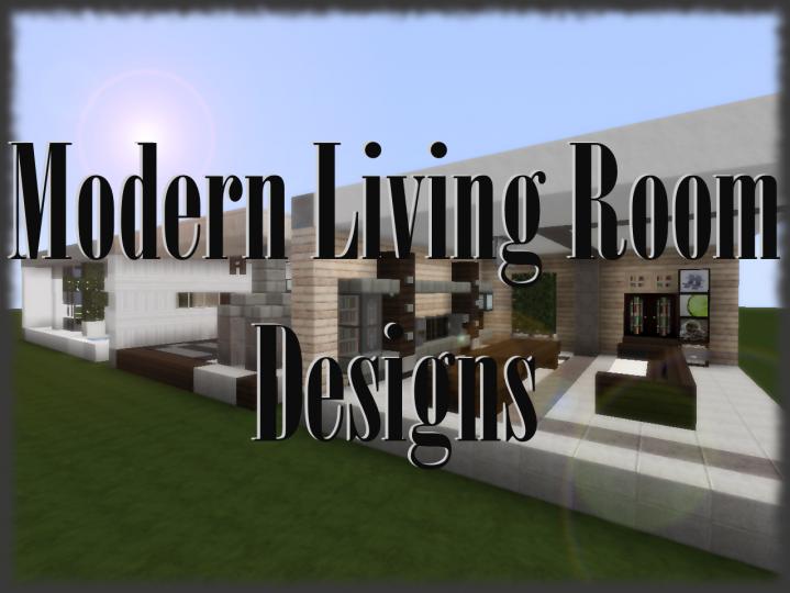 3 Modern Living Room Designs
