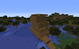 Transforming a Witch Hut Minecraft Map & Project