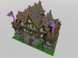 Mairie Medievale Minecraft