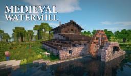 Medieval Watermill Minecraft
