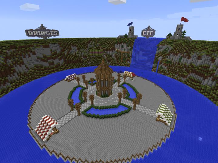Minigames hub