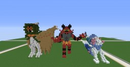 Pokémon Sun and Moon - Final Evolutions of the Starters! Minecraft Map & Project