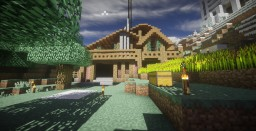 Hillside Chateau Minecraft Map & Project