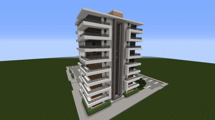Modern Apartment Building 2