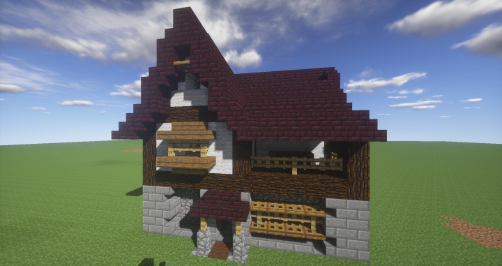 Simple Medieval House Small 1 Minecraft Map
