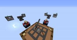 SkyWars (CraftWars) Minecraft Map & Project