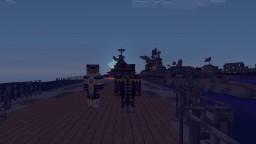 Battle ship fleet Minecraft Project