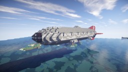 Movecraft Air Battleship - Renascent, Ship-of-the-line Minecraft Map & Project