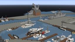Codshire Docks - Realistic Dock Project |WOK Creative Minecraft Map & Project