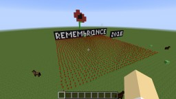 Remembrance Day 2016 Minecraft Map & Project