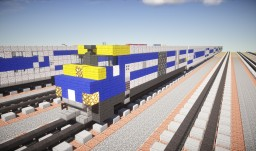 LIRR EMD DE30AC C3 Railcar Train Minecraft