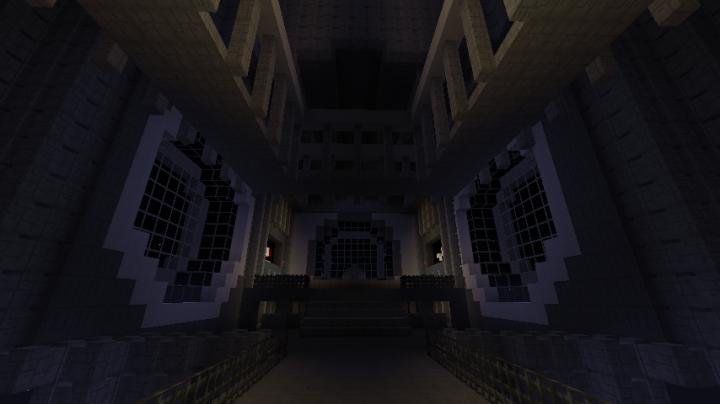 Emperors throne room