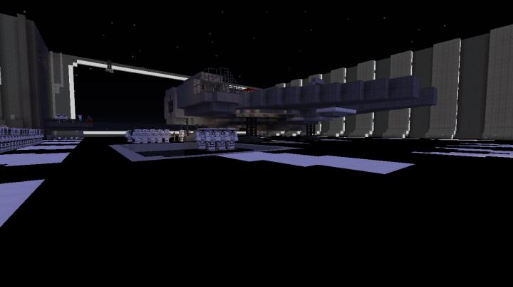 Millennium falcon landed