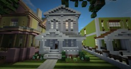 B.002- Greek Revival House Minecraft Project