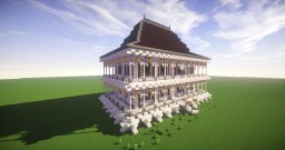 Victorian house mansion Minecraft Project
