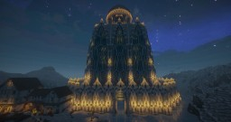 Fantasy Ice Castle Minecraft Map & Project