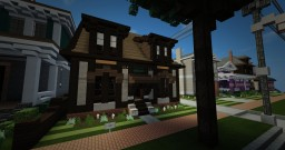 B.003 Gustav Stickley Craftsman Cottage Minecraft Project