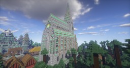 Emerald Church - downloadable Minecraft Map & Project