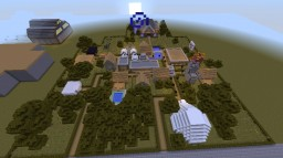 village (now upgraded in CITY!!) Minecraft Map & Project