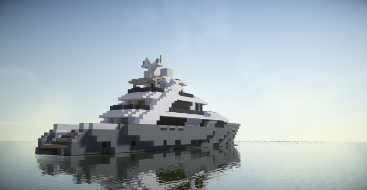 Mega Yacht Minecraft Project