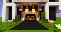 Modern cars pack Minecraft Map & Project