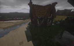 Small Farmhouse, barn and chicken coop Minecraft