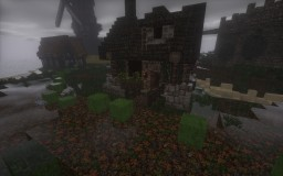 Small poor medieval house Minecraft