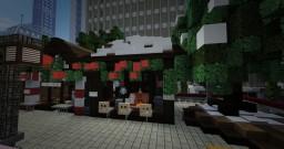 Christmas Market Stalls Minecraft Project