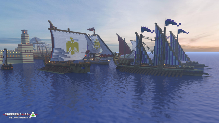The city and port of Byzantium, by Anonymous_SoFar
