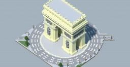L'arc de triomphe de l'Etoile Minecraft Map & Project
