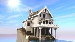 """Long Island"" Beach House Minecraft"