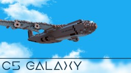 USAF C5 Galaxy Minecraft Project