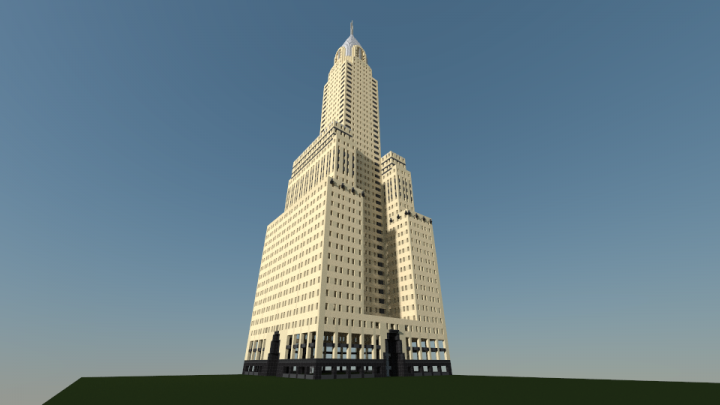 Chrysler Building Update: Chrysler Building Minecraft Project