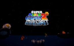 Mario Galaxy Wars VANILLA MINECRAFT MINIGAME Minecraft