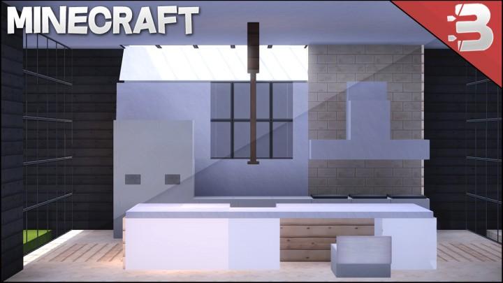 Minecraft Modern Kitchen Tutorial Minecraft Project