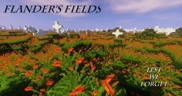 Flander's Fields Minecraft Map & Project