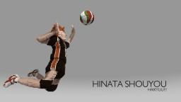 Hinata Shouyou ( Haikyuu!!! ) - Minecraft 3D Minecraft Map & Project